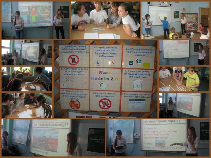 Pani Danuta Chwastek ze Szkoły Podstawowej w Inowrocławiu zamieszcza w swoim opisie Festiwalu 2.0 bardzo ciekawy quiz o netykiecie. Inne materiały też warto zobaczyć. Więcej tutaj: http://szkolazklasa2012.ceo.nq.pl/dokument_widok?id=9589