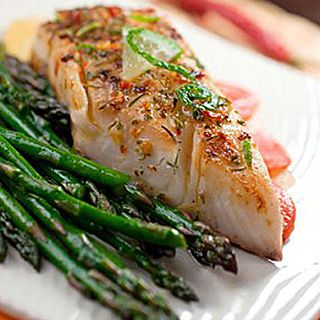 Chili-Rubbed Tilapia and Asparagus | Recipes | Metabolic Research Center