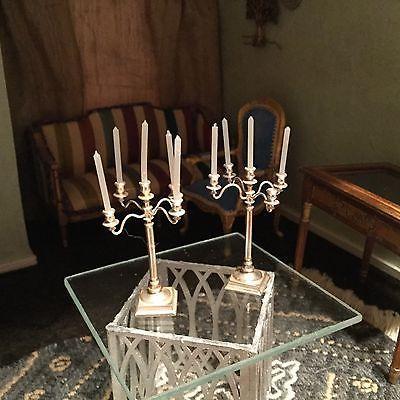 Alex-Rothwell-silver-plate-5-light-candelabra-near-mint