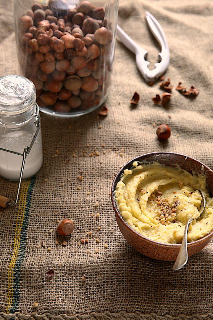 Purée de pommes de terre à la noisette