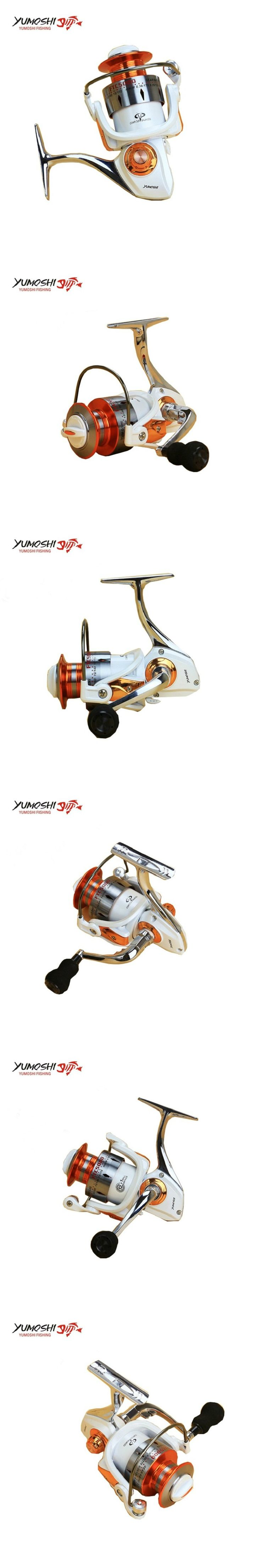 Yomores 12BB+1 Fishing Spinning Reel 3000-7000 Model Ratio 5.5:1 carretilha para pesca Metal Material baitcasting reel