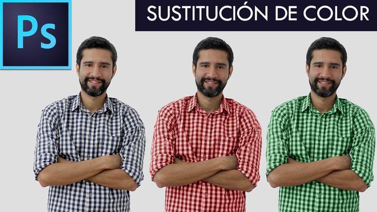Tutorial Photoshop // SUSTITUCIÓN DE COLOR By @FabiPublicista