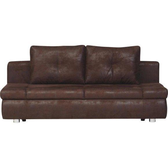 SOFA In Braun Textil   Polstermöbel   Polstermöbel, Sofas U0026 Sessel   Wohn  U0026