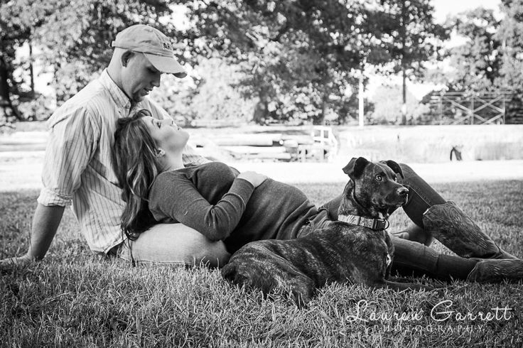 country maternity shoot in Anderson, South Carolina #maternity #photography  maternity picture with dog