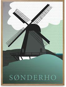 Ditte Maigaard Studio: Sønderho (Fano, Denmark) Poster