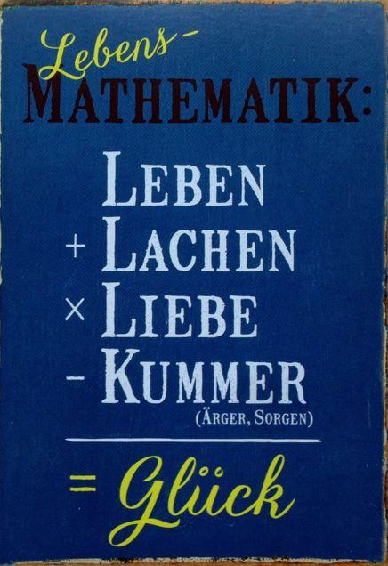 Lebens-Mathematik
