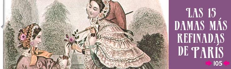 Las 15 damas más refinadas de París... según el Marqués de Sade.