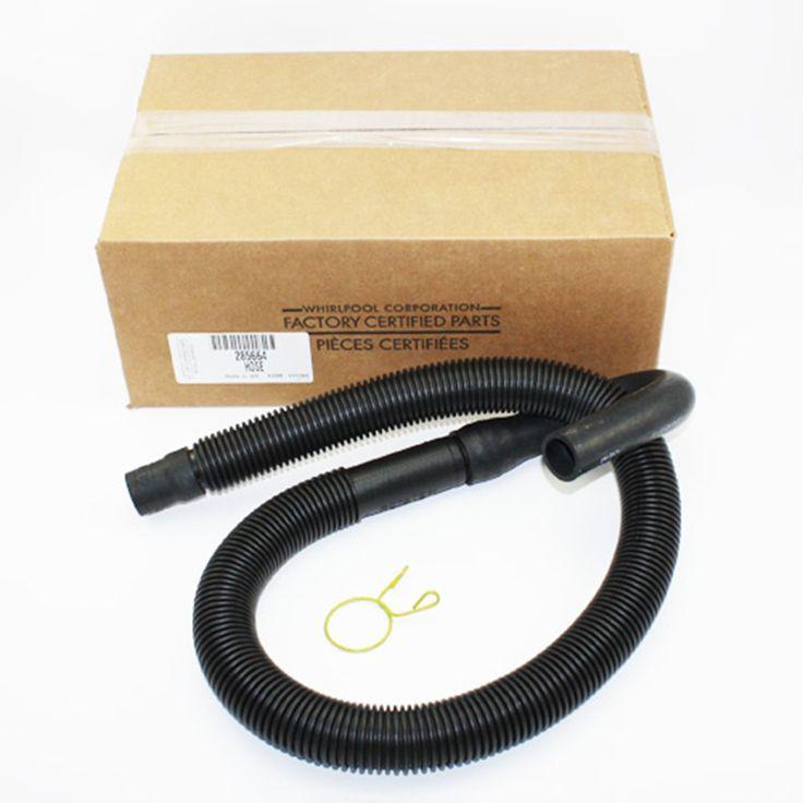 Genuine OEM 285664 Whirlpool Washing Machine Drain Hose and Clamp