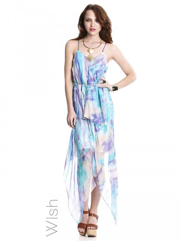 The iconic wish maxi dress