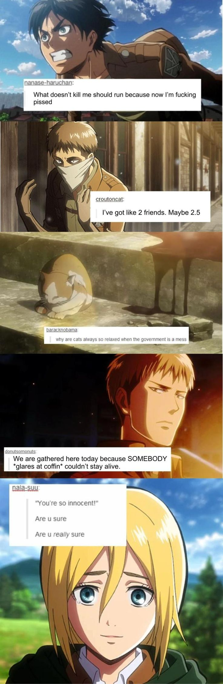 If you have been reading the latest chapters of AoT, then you would understand the last post