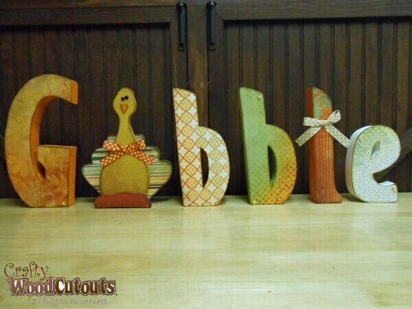 17 best images about november thanksgiving crafts on for Wood cutouts for crafts