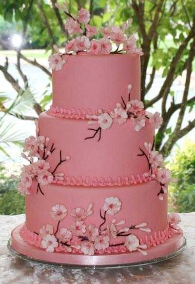 tartas decoradas con flores - Buscar con Google