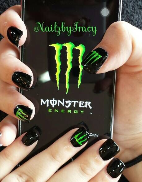Monster Energy Supercross nails!