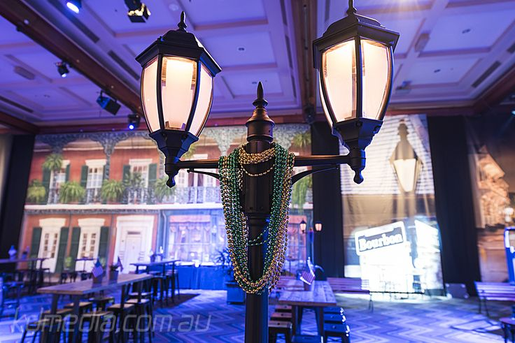 New Orleans Themed Event Styling