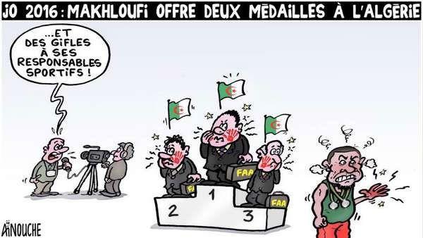 Ainouche (2016-08-21) JO 2016: Makhloufi offre deux médailles à l'Algérie