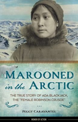 In 1921, four men ventured into the Arctic for a top-secret expedition: an attempt to claim an uninhabited island in Siberia for Great Britain. With the men was a 23-year-old Inuit woman named Ada Blackjack, who had signed on as a seamstress to earn money to care for her sick son.The men die from various causes and Ada learns to survive teaching herself to trap and shoot animals, building a crude boat that allowed her to seal-hunt, and crafting a stove from old cans... Gr 7 and up