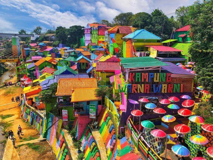 Kampung Warna Warni Jodipan di 2020 Fotografi perjalanan