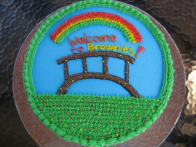 Daisy Troop Bridging to Brownies - A by angegreene, via Flickr