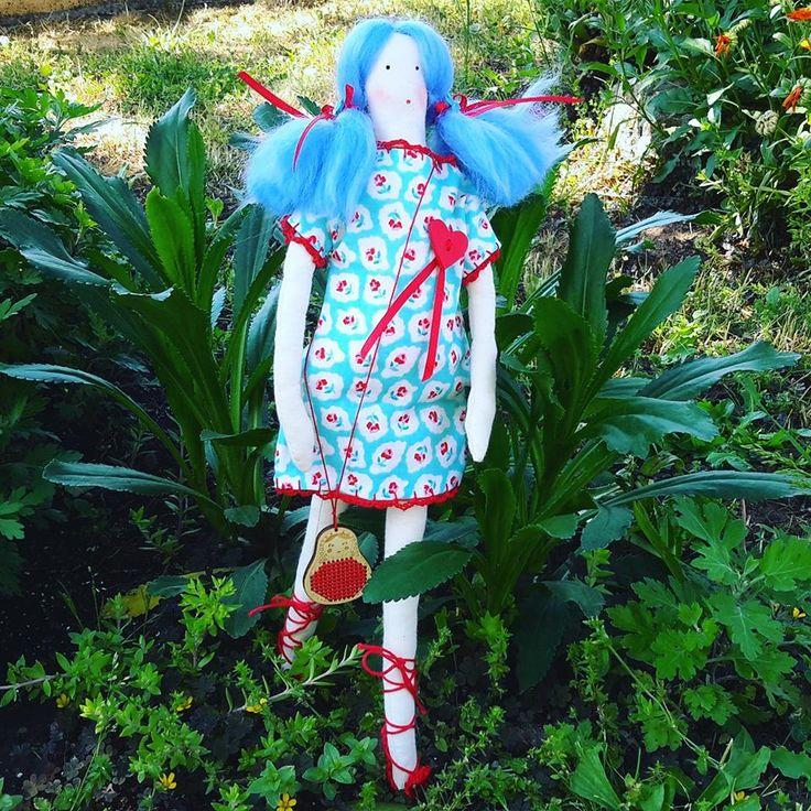 handmade fabric doll by BlossomsHandmade  https://www.facebook.com/Blossoms-1402346410073458 https://www.instagram.com/blossoms_handmade/