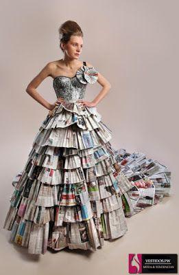 vestidos reciclados para niña paso a paso