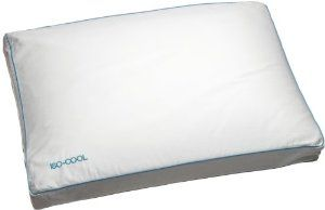 Mother's Day Gift: Sleep Better Iso-Cool Memory Foam Pillow, Gusseted Side Sleeper