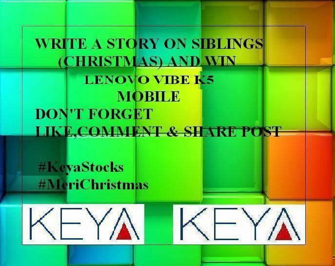 Keya Stocks Contest – Get A chance To Win Lenovo Vibe Smartphone