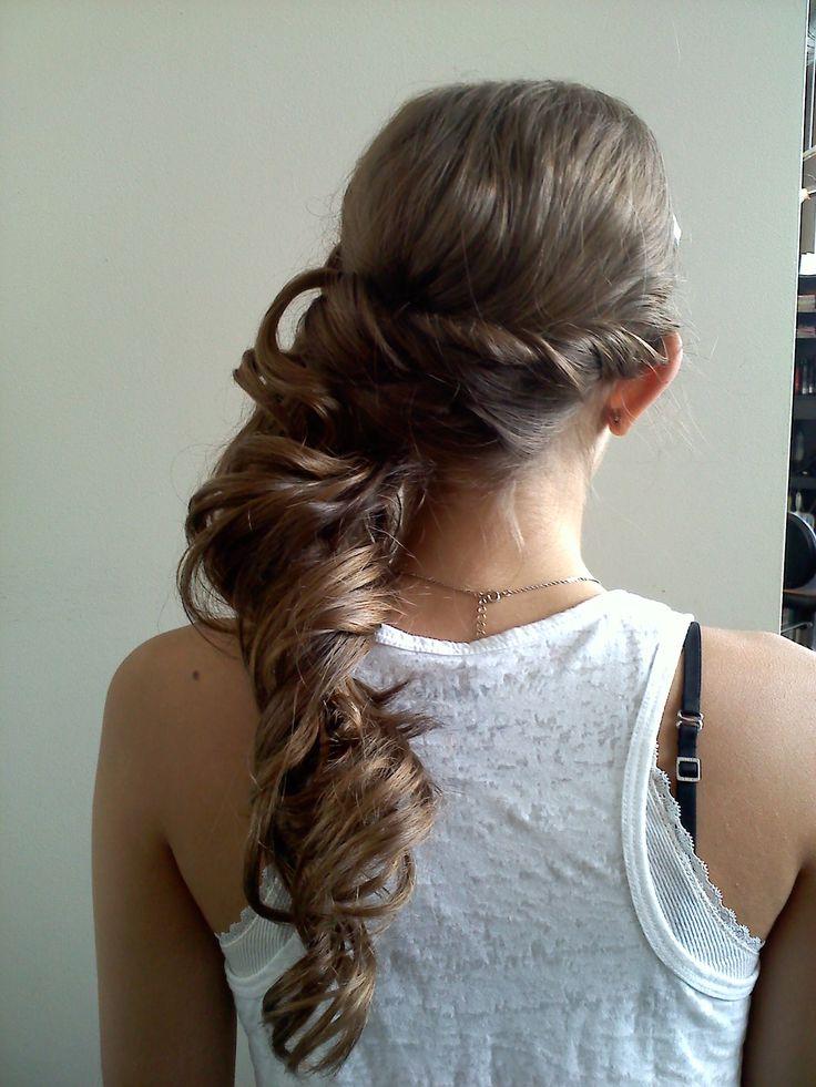 Updo prom bride hair by Jillain