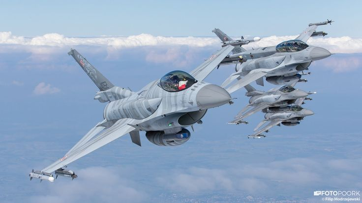 The Aviationist » Polish Air Force Celebrates the 10th Anniversary of the F-16…