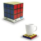 Rubiks Cube Coaster Set