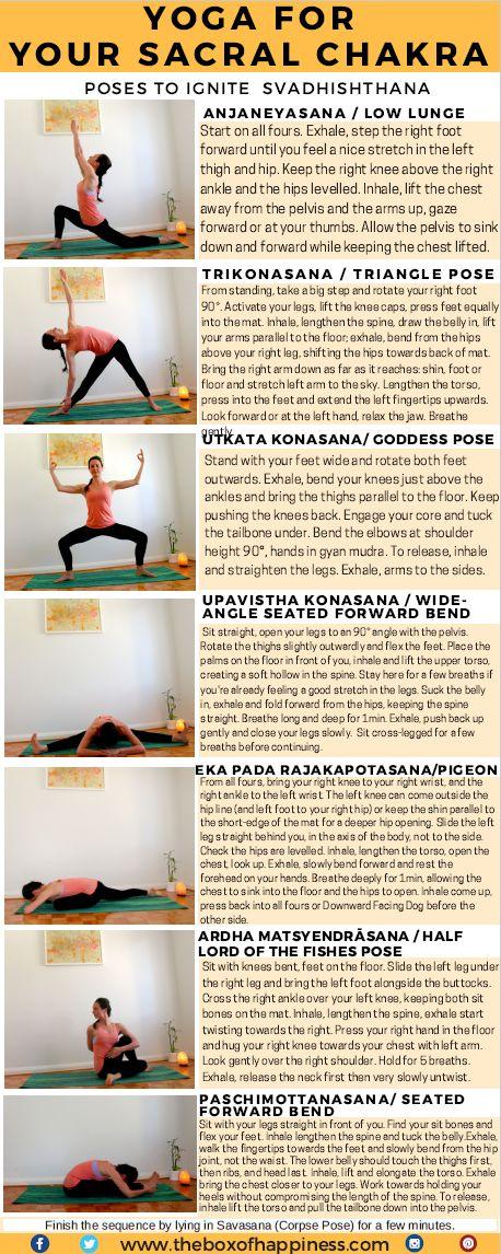 yoga sequence sacral chakra
