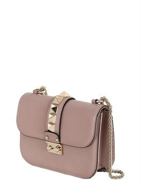 """valentino - женщины - сумки на ремне - сумка """"lock"""" из кожи наппа"""