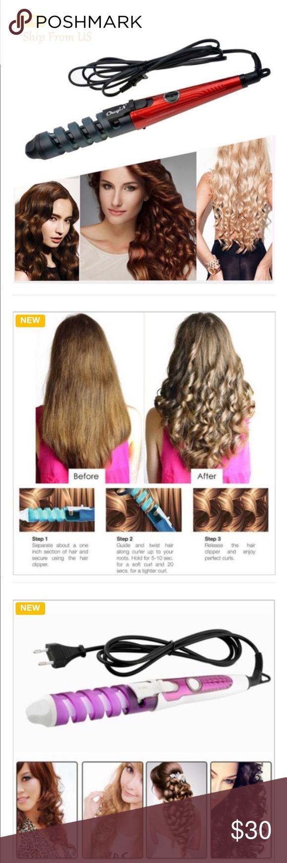 Magic Spiral Curling Iron!!  Love it!!! Magic Spiral Curling Iron!!!  Love Love Love!! Accessories Hair Accessories
