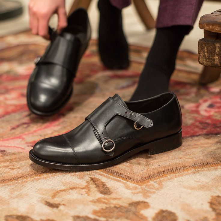 """Orlera"" --> doublemonks in black leather, for her. #velascamilano #madeinitaly #women #womensfashion #womenswear #womenstyle #womenshoes #womensshoes #woman #shoes #shoesoftheday #shoesph #shoestagram #fashionable"