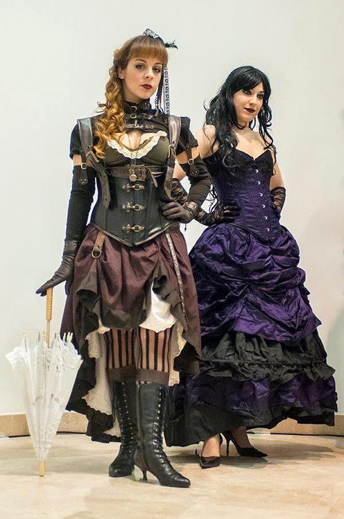 "Both ""traditional"" & dark styled Steampunk"