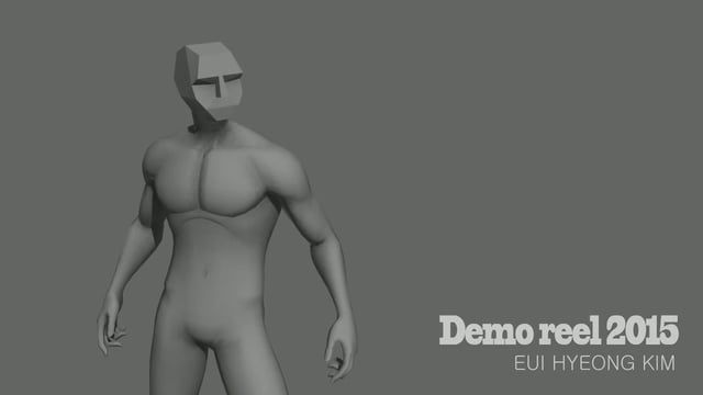 2015 game animation demo reel