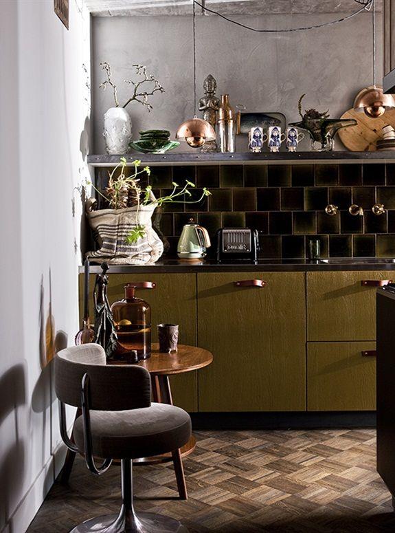 17 beste idee n over klein appartement keuken op pinterest klein appartement organisatie - Deco klein appartement ...