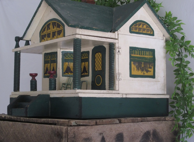 Antique Converse Doll House . .