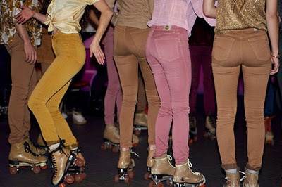 roller skate party...next birthday...: Colour, Fashion, Roller Skating, Color, Photo