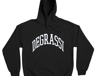 Degrassi Hoodie - High School Jimmy Brooks Drake Canada Canadian Hooded Sweatshirt Sports Sweater - Mens Womens - Sweater Pullover Oversize