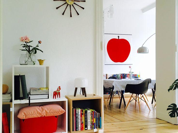 design : wohnzimmer rot weiß grau ~ inspirierende bilder von ...