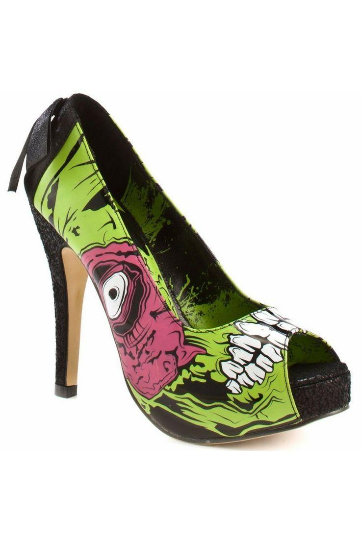 Zombie Stomper- #KinkyMissLingerie #IronFist #ShoeGame