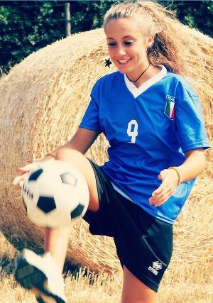 #ForzaAzzurri Sport #Fitness #Calcio Young People #TIMYoung Marina Cuttin