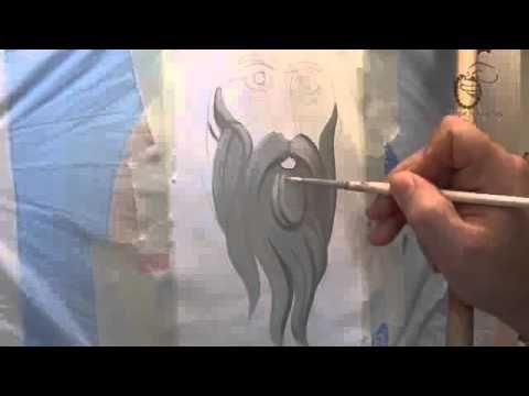 Αγιογραφία - Πως φτιάχνουμε γένια γερόντων