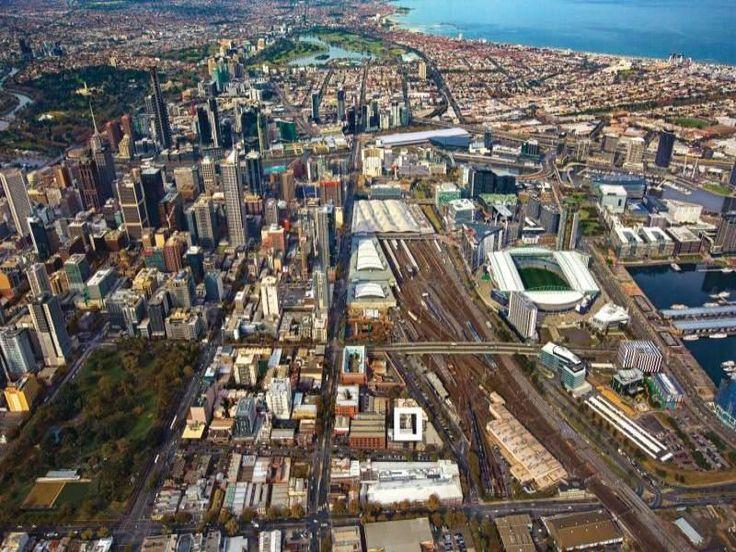 Views from West Melbourne through to Docklands, CBD, St Kilda Road, Port Melbounrne & St Kilda