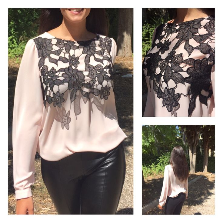 SHIRT WITH LACE PRICE:64€ SIZES:S-M-L-XL MOD:1173-2036