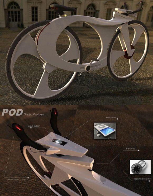 """i Bike"" Concept design by Reindy Allendra."