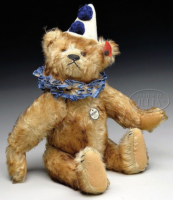 43 best Steiff teddy clown bears images on Pinterest | Bären, Clowns ...