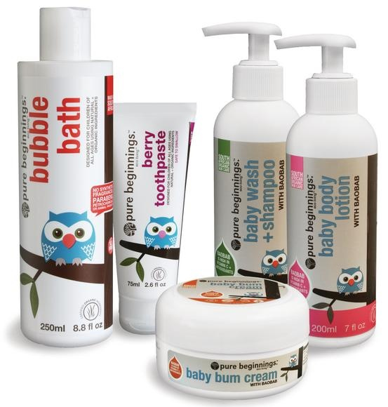 Pure beginnings natural products