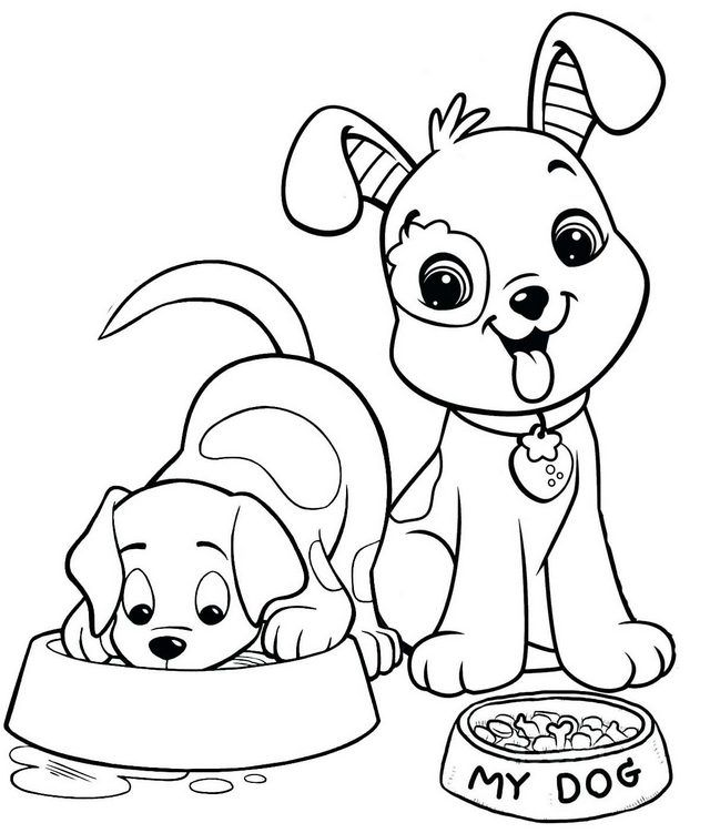 The Dozens Of Cute Dog Coloring Pages For Kids Coloring Pages Dog Coloring Page Puppy Coloring Pages Animal Coloring Pages