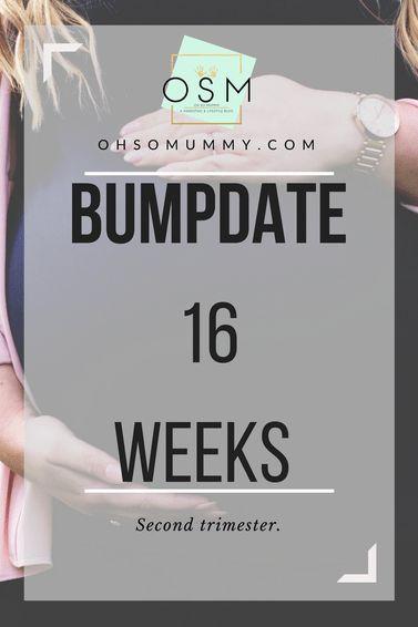 BUMPDATE | 16 WEEKS